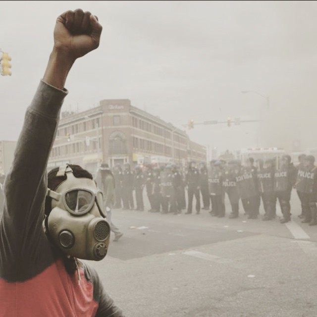 Riot…… Baltimore april 28 2015. Police brutality ignites a break down in a torn world….. THE DISCONNECT