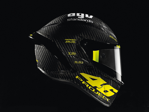 AGV PistaGP helmet for the Doctor