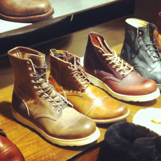 RedWing heritage at the Nordstrom mall of America. (Taken with Instagram)