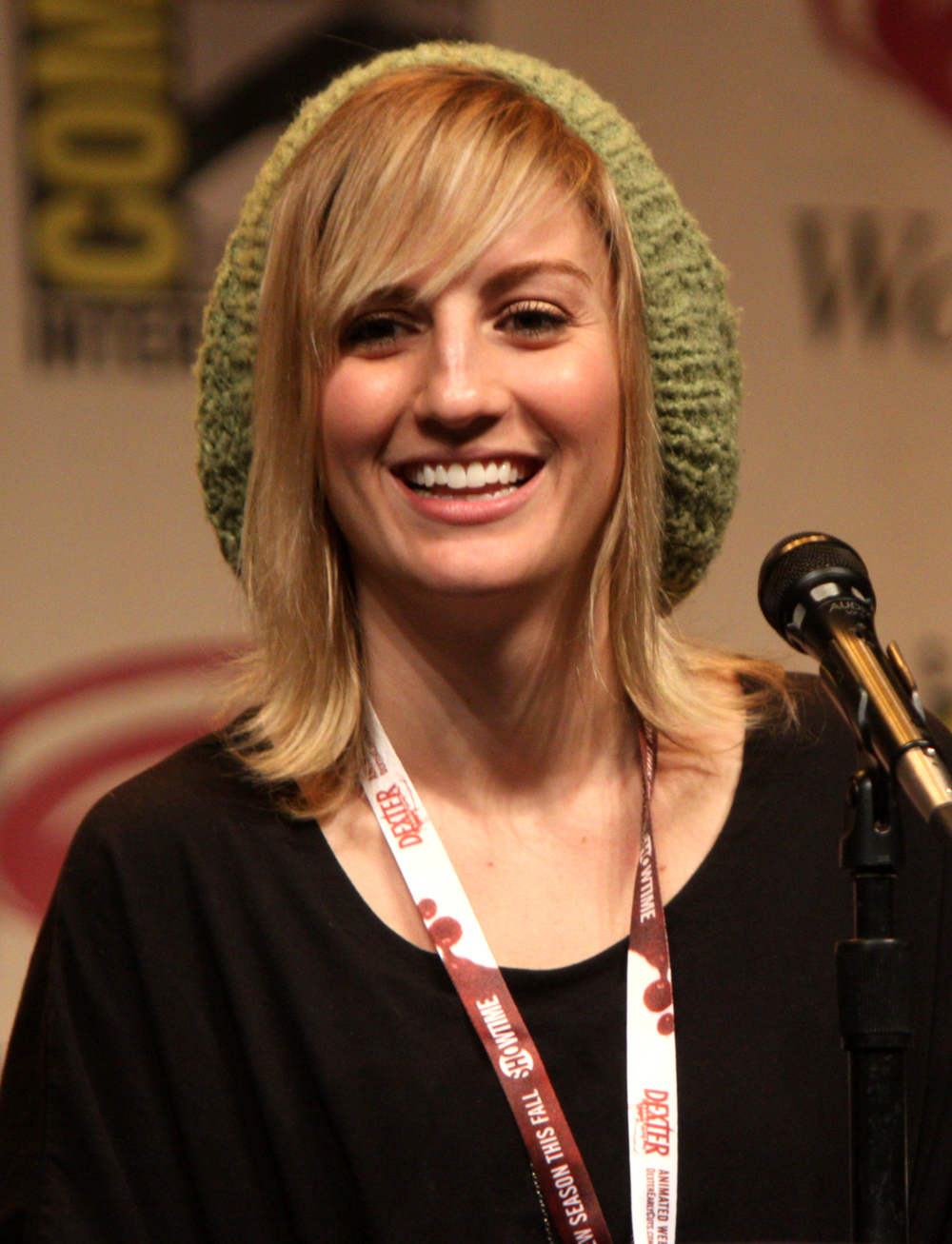 Alison Haislip, former host of G4TV. Photograph by Gage Skidmore.