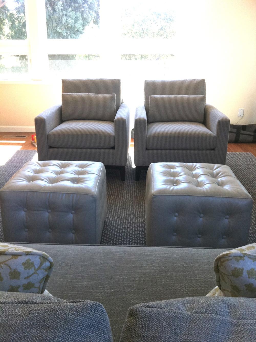 Kravet chairs