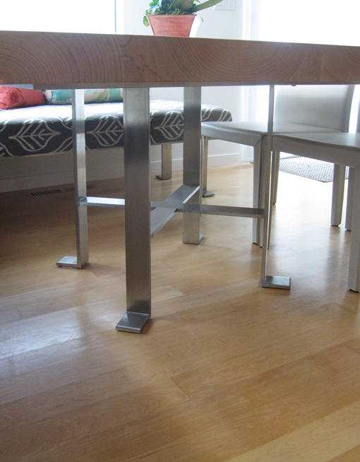 Anthropomorphic table legs