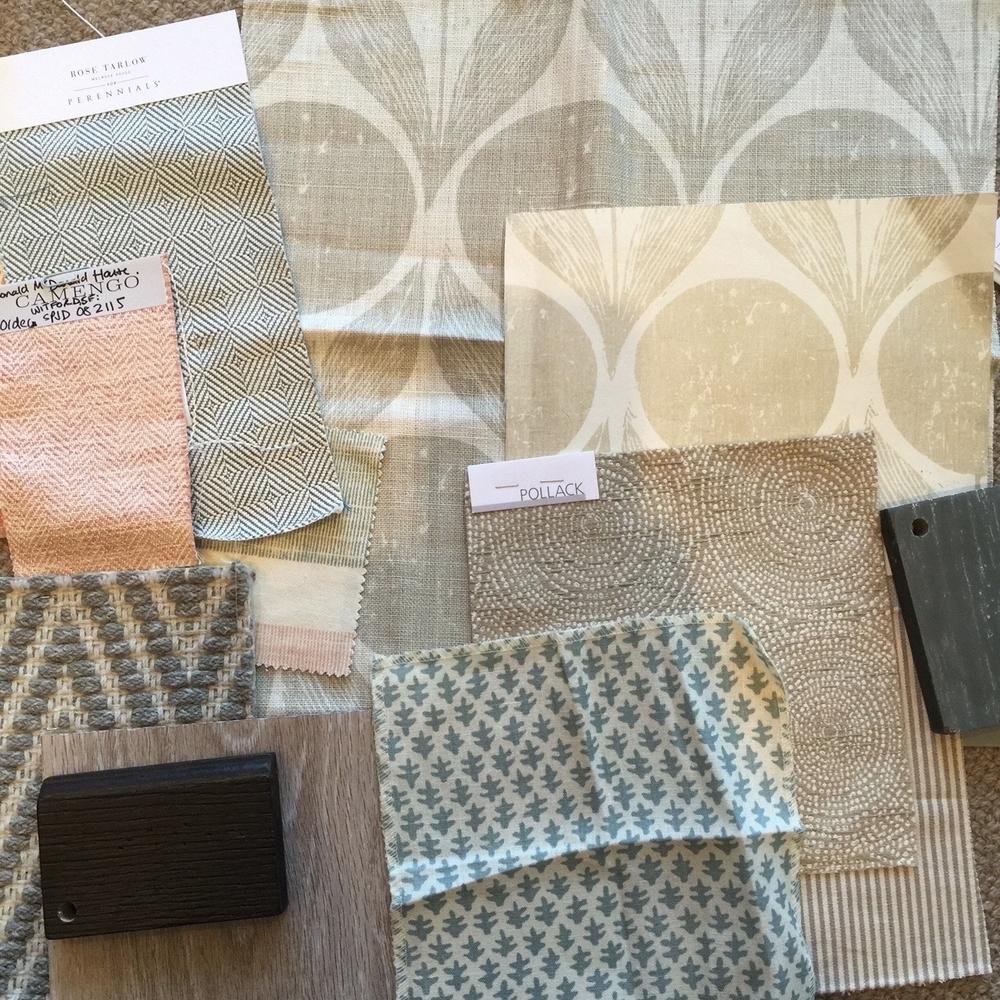 Materials palate