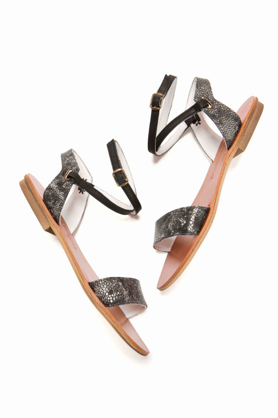 //Love. Love. thispair of handmade sandals from Olive Thomas Shoes//