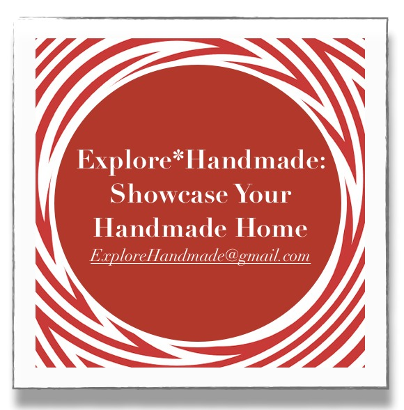 I'm excited to announce the first of a few new regular blog features that Explore*Handmade will be rolling out in the coming weeks: Showcase Your Handmade Home.  Do you have handmade goods that you bought or made yourself in your home that you absolutely adore? If so, Explore*Handmade would love to showcase how you use or display them in your home for its readers.  If you are interested, please e-mail the information below to ExploreHandmade at gmail.com. Submissions will be reviewed by Explore*Handmade for consideration as featured Handmade Home posts in the future: * Your name (first name is fine, if you prefer) and location.  * Photos of the handmade item you, honest to goodness, love (please send in .jpeg format). Ideally, you would send a few photos of the item and include some wider photo shots showing where it is in your home. Quality of photos is one of the key factors for any feature.  * Please provide some details about the item (including the shop you purchased it from, if not handmade by you, and when you bought it). Also, please briefly explain what makes it special to you, and why it would make an excellent feature on Explore*Handmade. * You can also include information about your home decor style and inspiration. If you are affiliated with a handmade goods shop or a blog, please also include this information as it may accompany the post. Thank you, and I look forward to hearing about your favorite handmade goods and sharing them with the Explore*Handmade community!