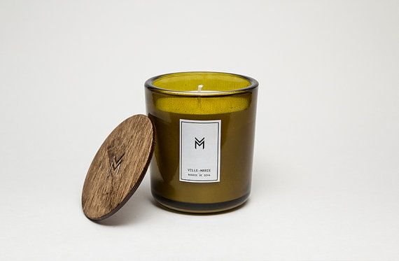 Black Spruce & Lime Candle, $3