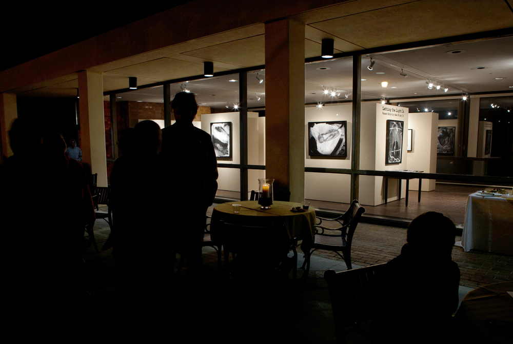 """Letting the Light In""  solo show at The Milliken Gallery, Converse College, Spartanburg, South Carolina, 2012"