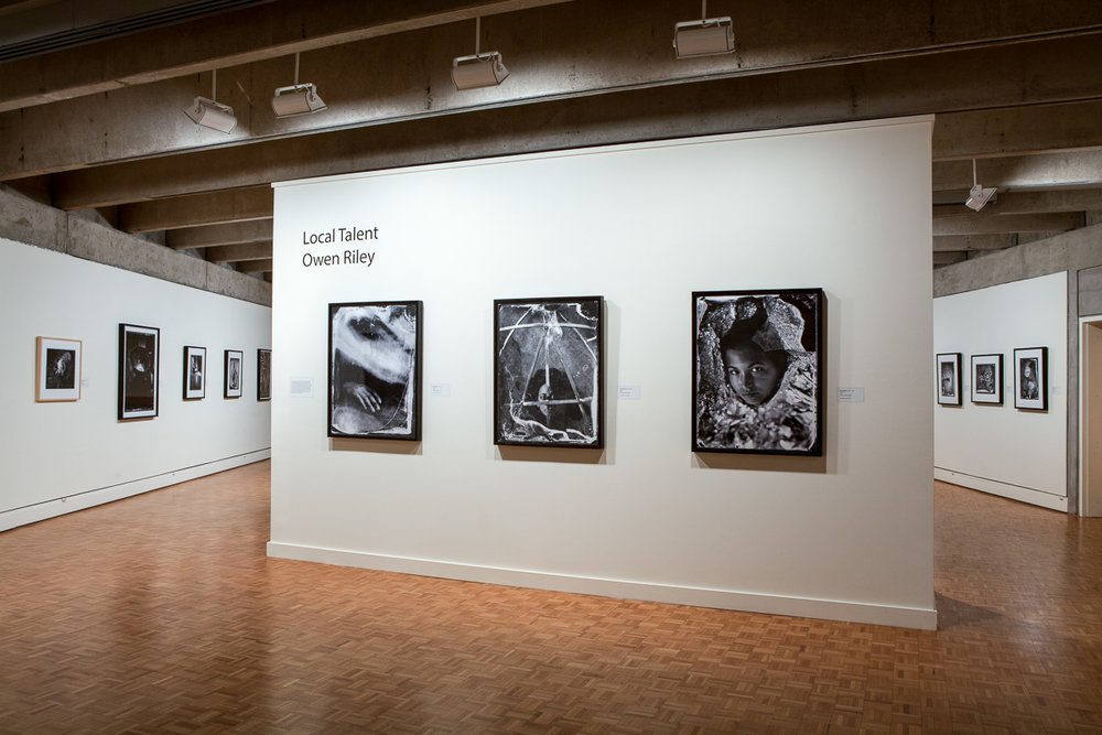 """Local Talent: Owen Riley""   Solo show at the Greenville County Museum of Art, 2015."