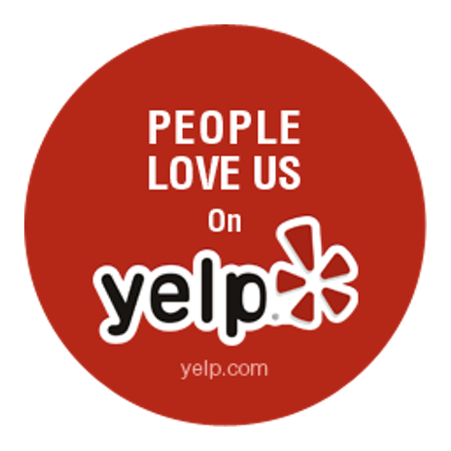 GOOD YELP REVIEWS?   Check out the great feedback we get from our customers on Google and Yelp.