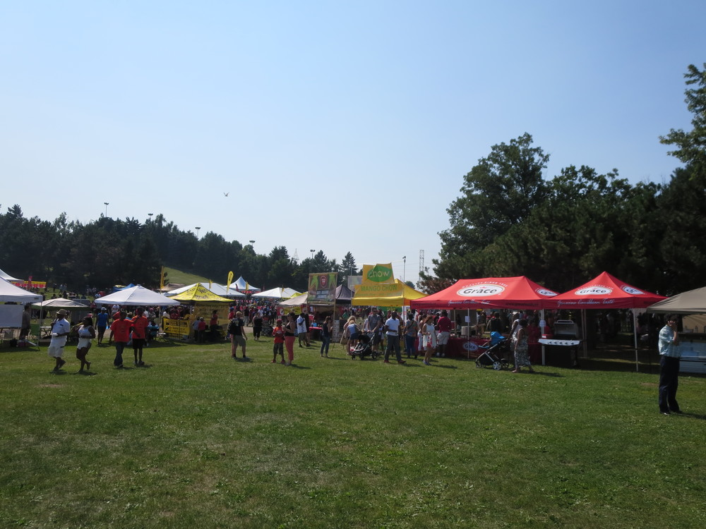 Jerkfest - Vendors tents
