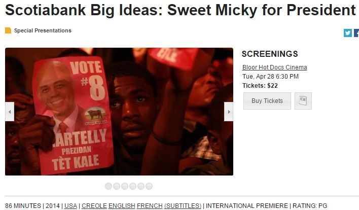 Sweet Mickey for President