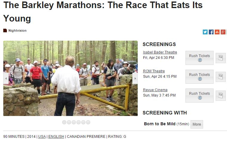 The Barkely Marathons