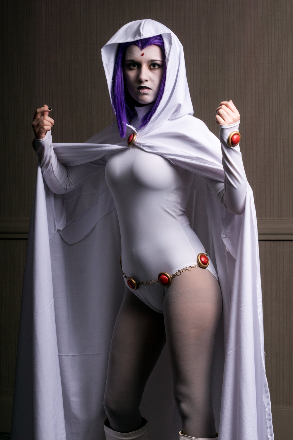 Raven Cosplay from Teen Titans By Gina at Sangawa 2017