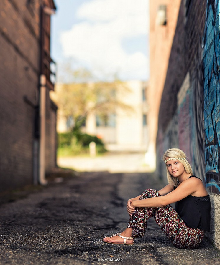 Alleyway Megan