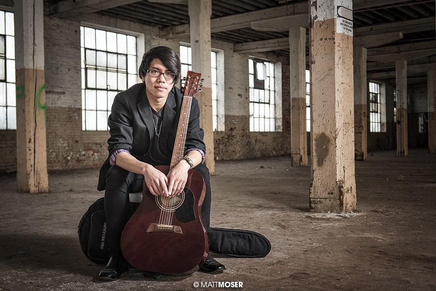 Warehouse Musician