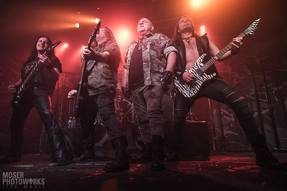 Photos: U.D.O. @ The Agora