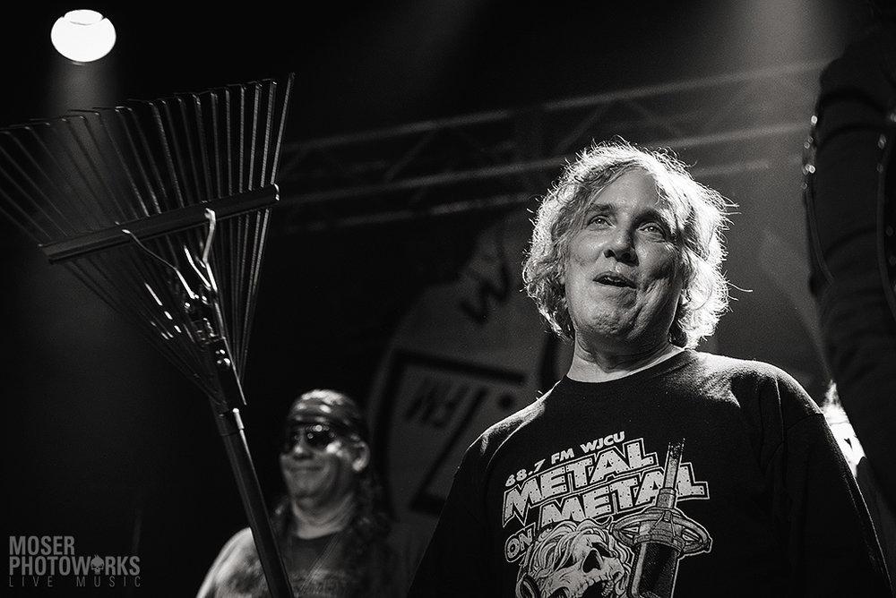 Bill Peters, the man behind the Metal Food Drive and Metal on Metal