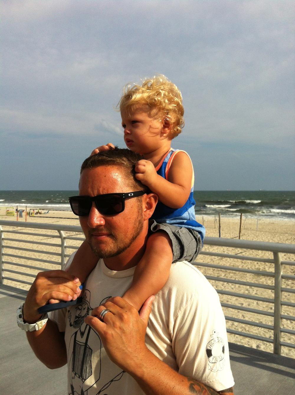 Gene Rogovitz & son Gavin