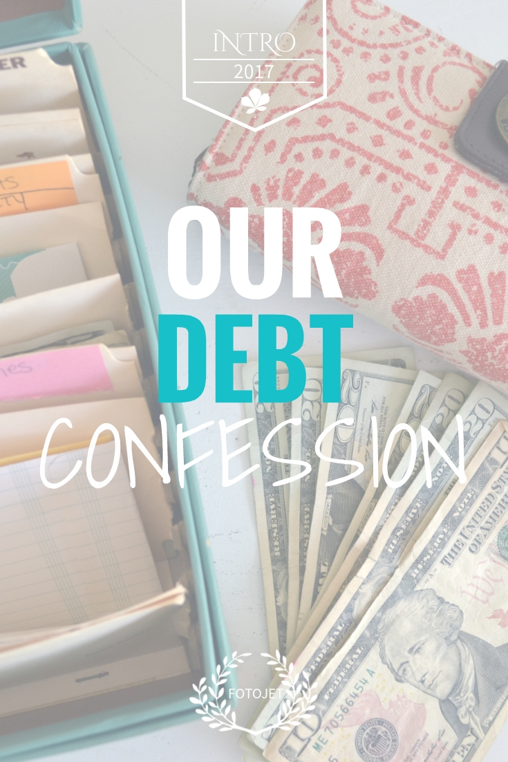 our debt confession