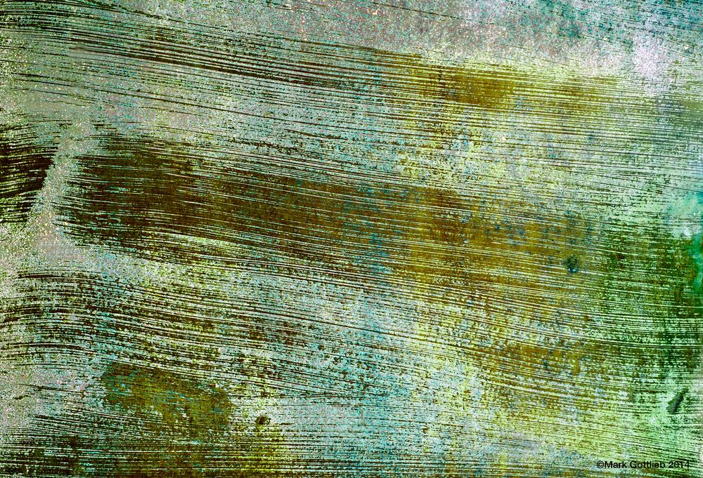 Boatyard Texture #26 Green Strokes