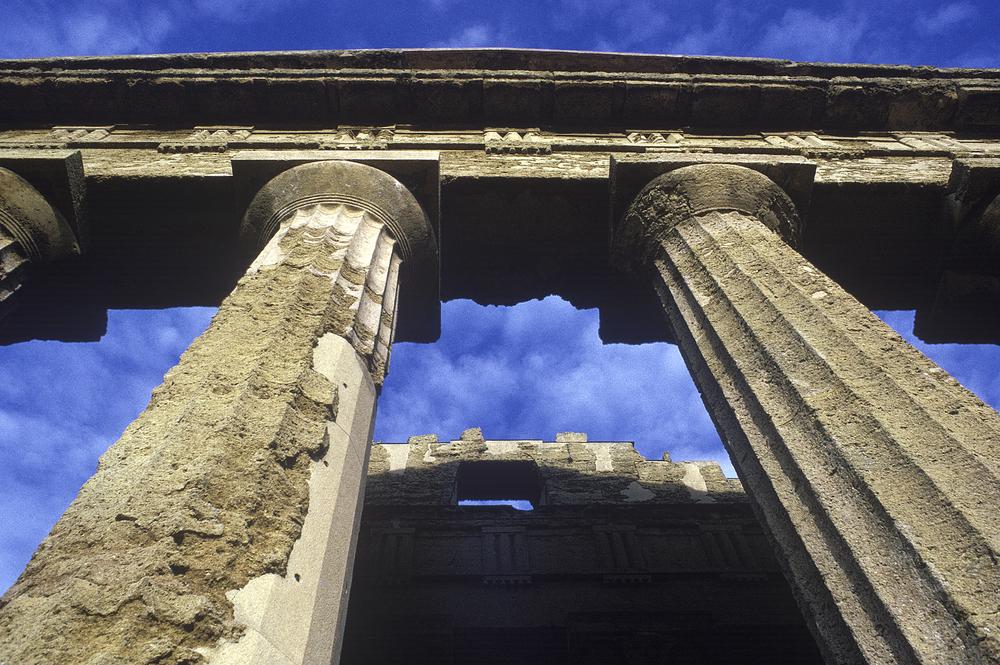 Greek Columns, Agrigento, Sicily