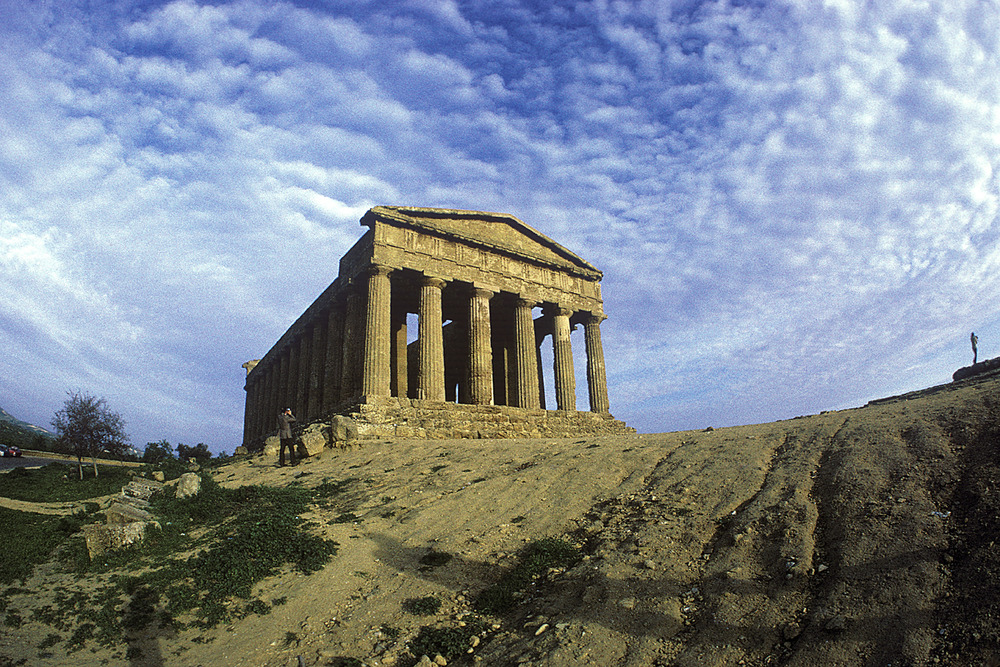 Greek Temple at Agrigento, Sicily