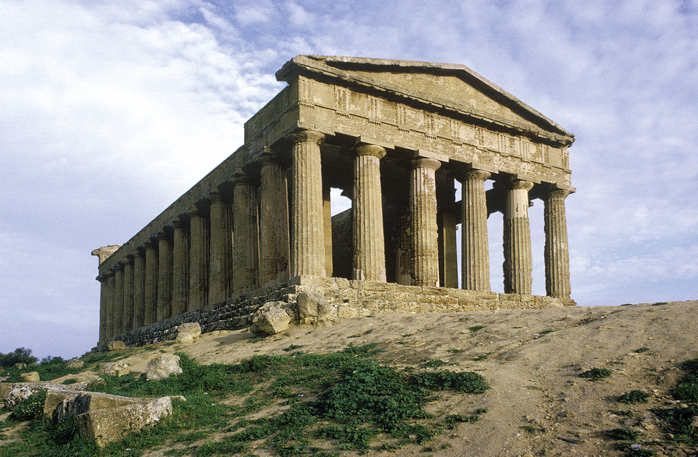 Greek Temple at Agrigento, Sicily 1971