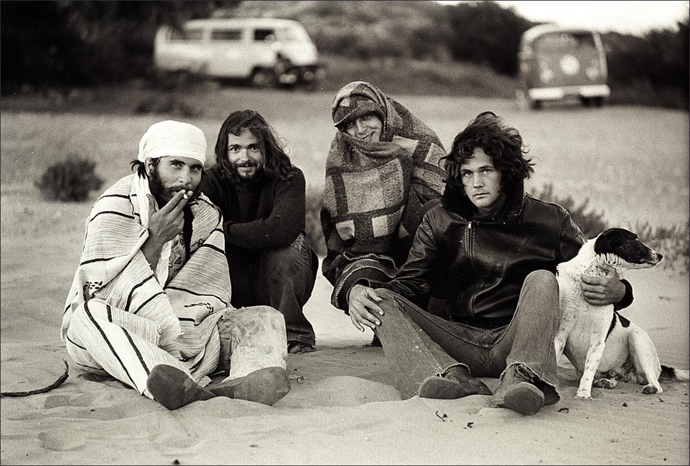 Americans in Morocco, Essaouira, 1971