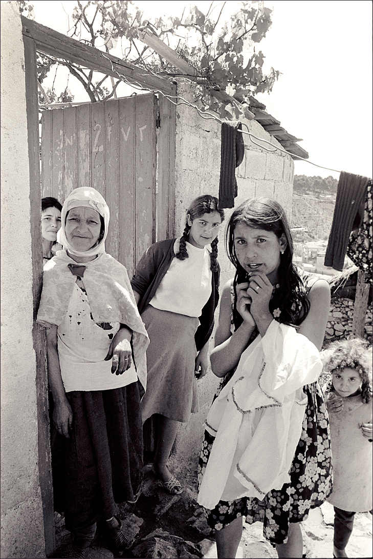 Algerian country people, 1971