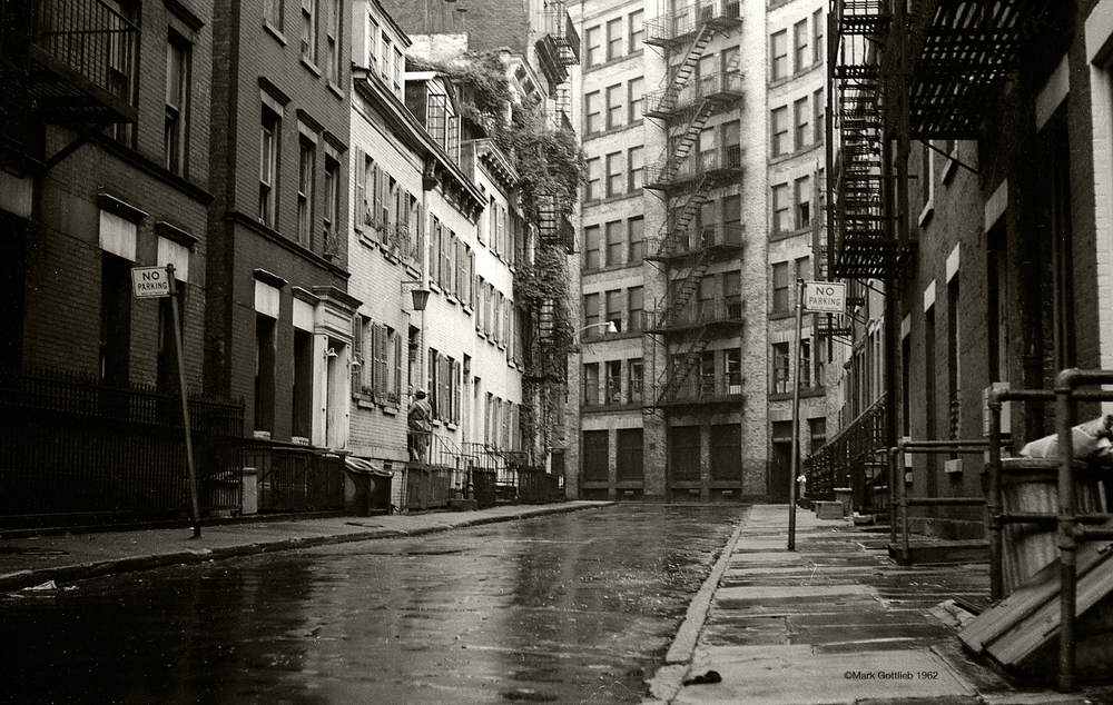 NYC, Lower East Side, Near Brooklyn Bridge 1962