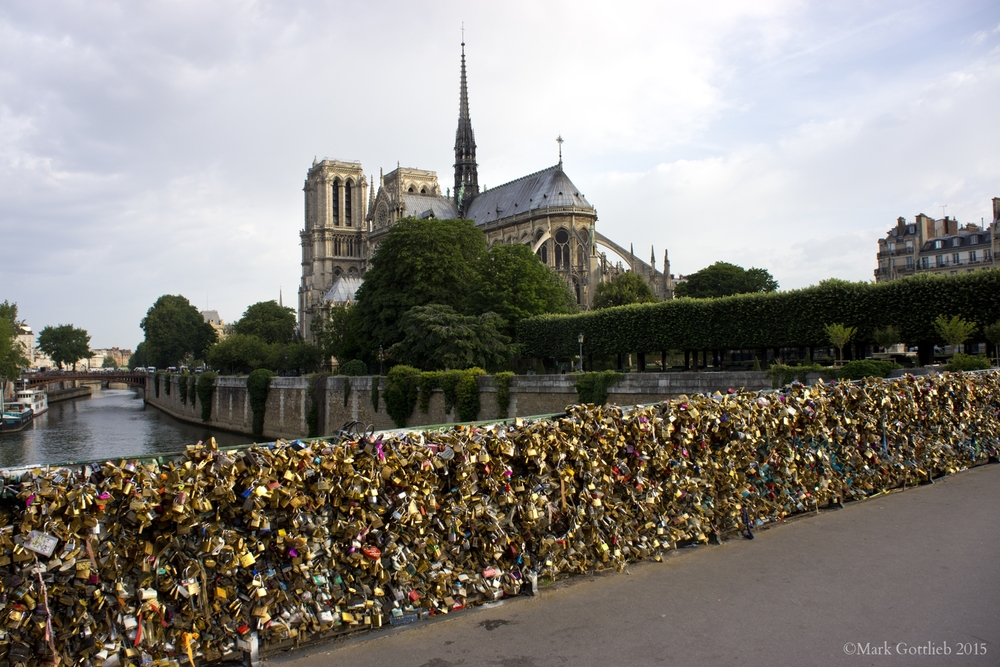 Notre Dame, Love Locks 2015