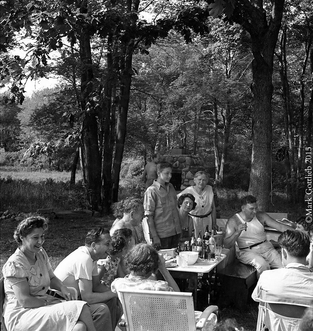 Family Picnic Circa 1950