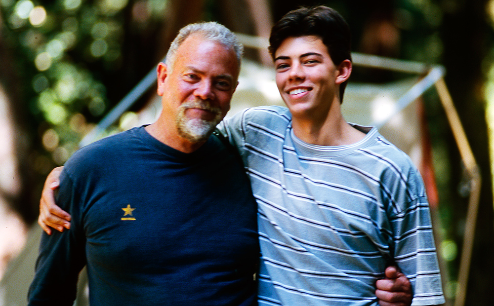 Bruce and Tyler Robertson