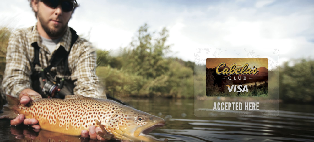 """""""Accepted Here"""" Rebranding Camapign    Client: Cabela's CLUB 