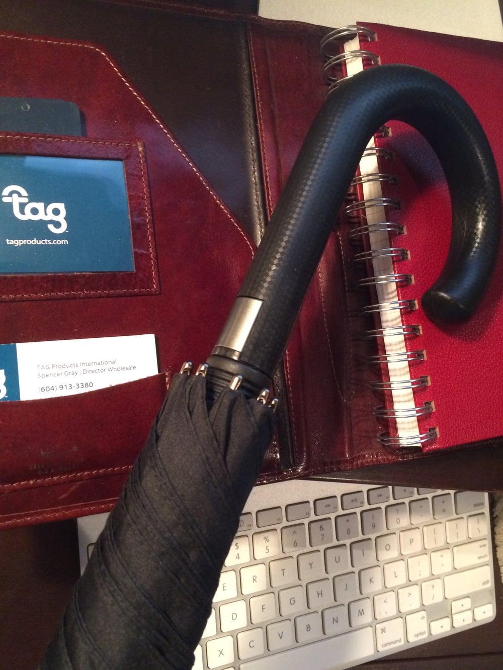 tagUmbrella™| 8858JB Signature Series™ Traditional Full-Size Bankers Umbrella
