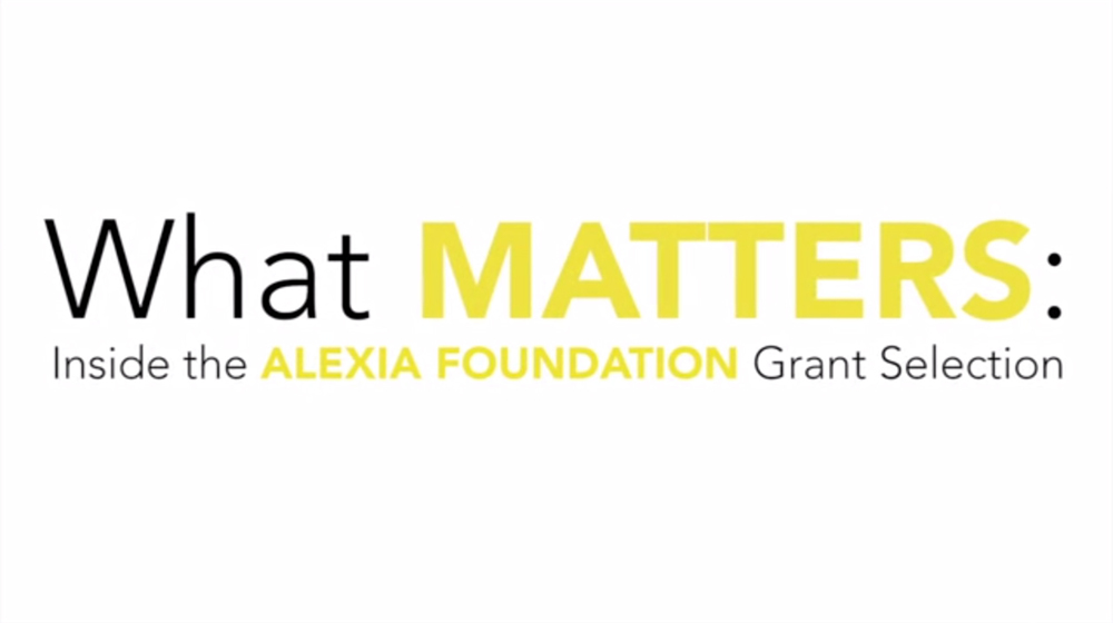 What MATTERS: Inside the Alexia Foundation Grant Selection >> Editor & Sound Designer