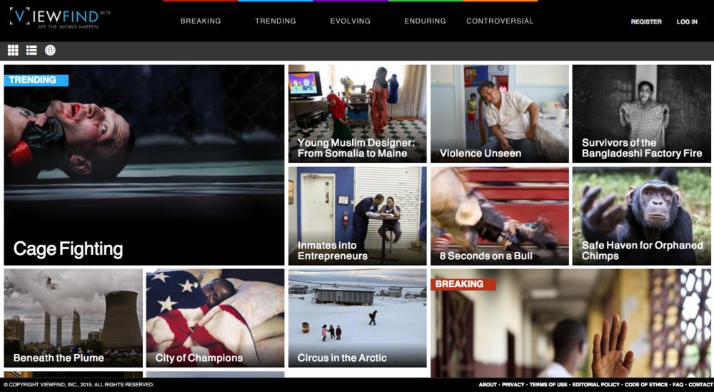 ViewFind Beta Site - July 2015