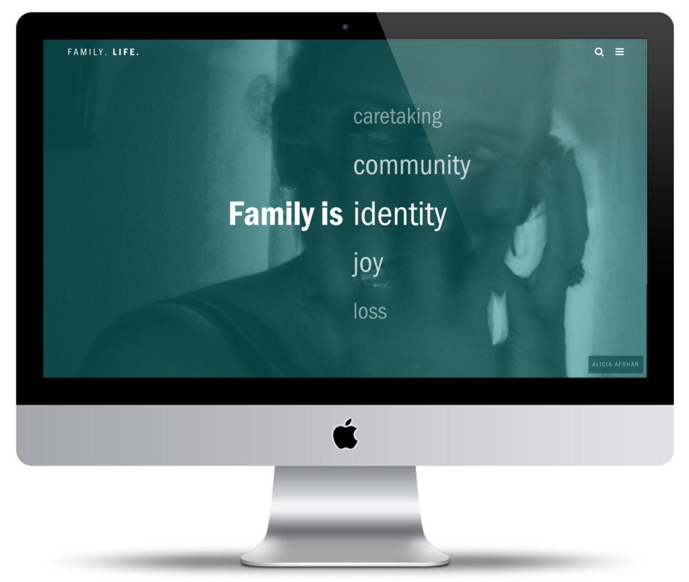 "Family. Life. | recapturing ""The Family of Man"" >> Project Director"