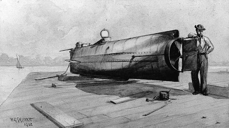 Confederate Submarine: H. L. Hunley