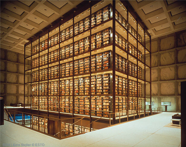 Beinecke Rare Book & Manuscript Library at Yale University