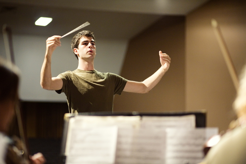 Conducting the Lee's Summit Symphony