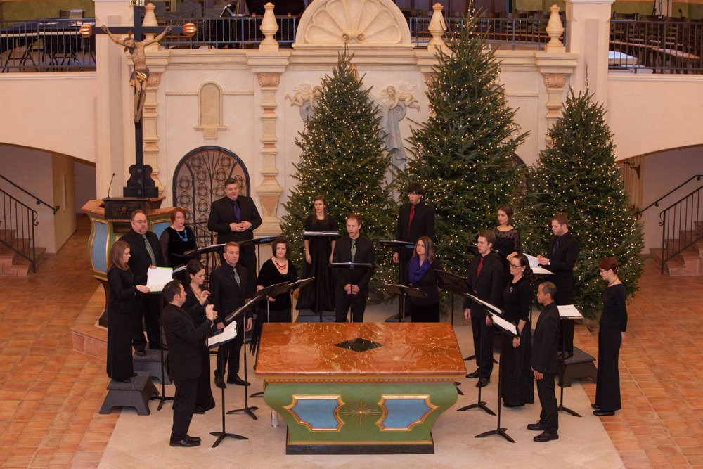 "Kantorei of Kansas City performs ""There Is a Flower"""