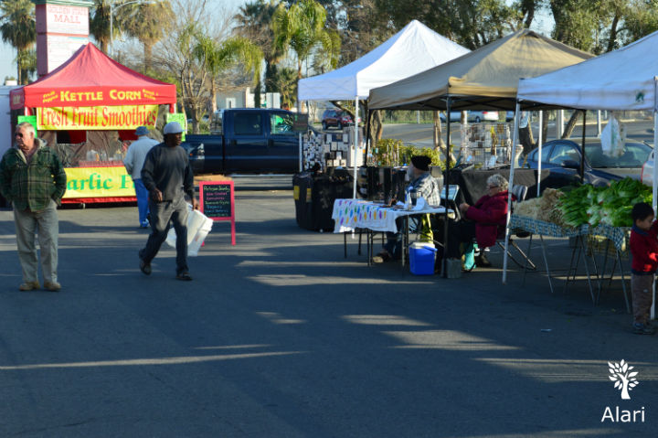 Valley Farmers Market in Bakersfield