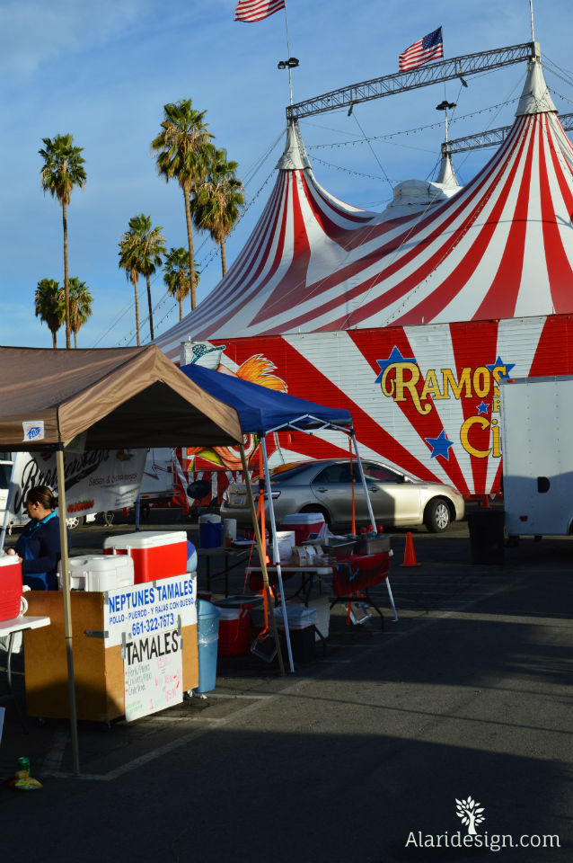 Circus in town with Bakersfield Valley Farmers Market