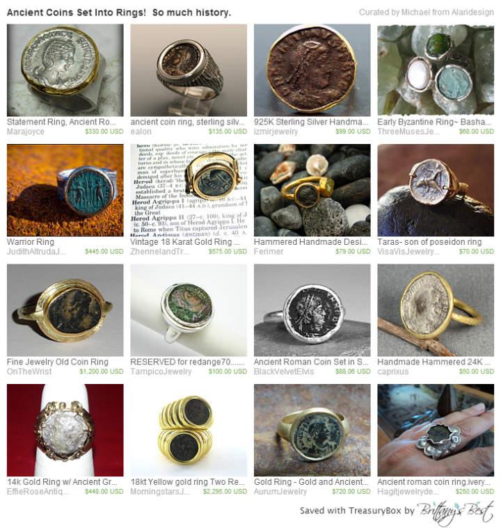 Roman Coin Rings