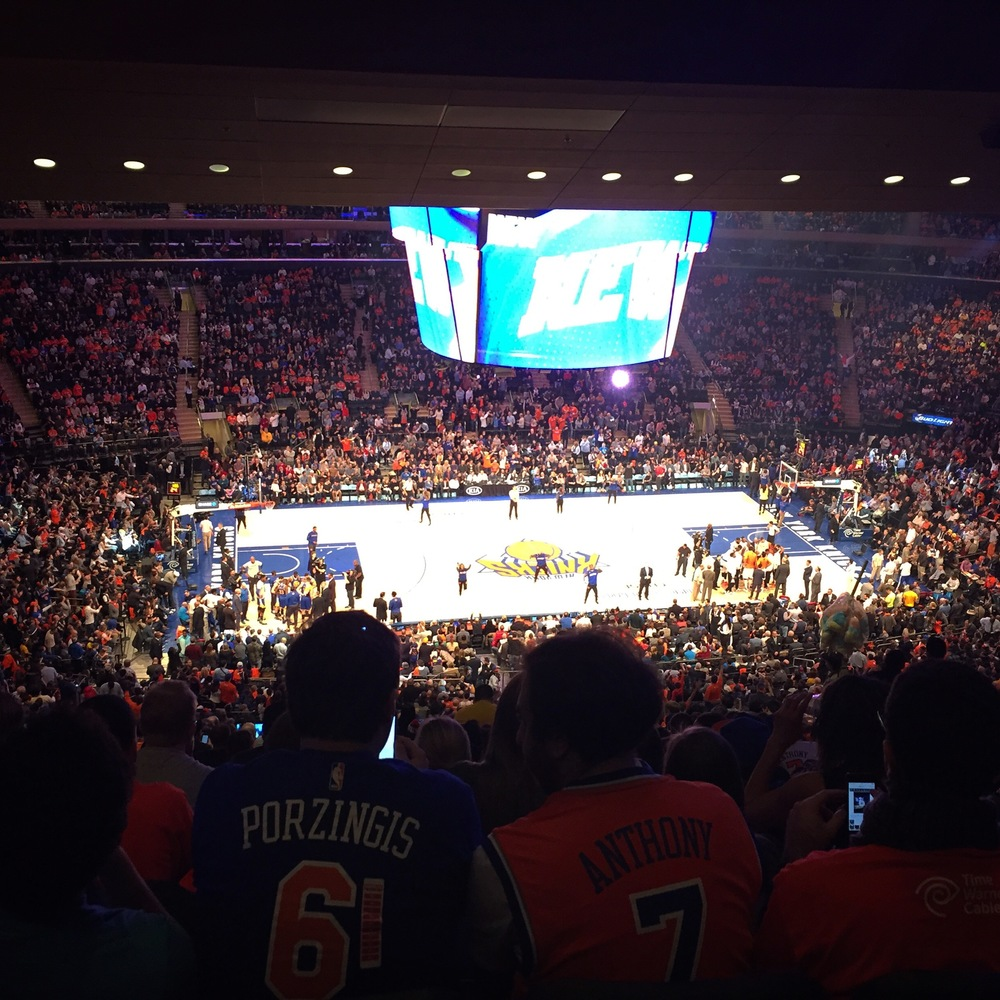 Knicks vs Golden State Warriors
