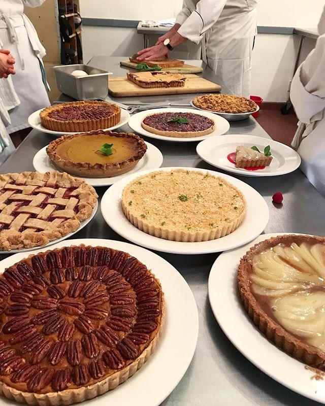 Will forever miss being asked to judge pies made by chefs in training. #piday . . . . . . . . #feedfeed #food52 #foodasart #eatlocal #wholefoods #freshfood #keepitsimple #healthy #healthyfood #iamwellandgood #dailytonic #locallygrown #mindbodygram #homemade #instafood #feedyoursoul #vegan #vegetarian #plantbased #glutenfree #glutenfreefood #naturalgourmetinstitute #nyceats #nginyc #nycfood #eattheworld #eeeeeats #nginyc #pie #sliceofpie