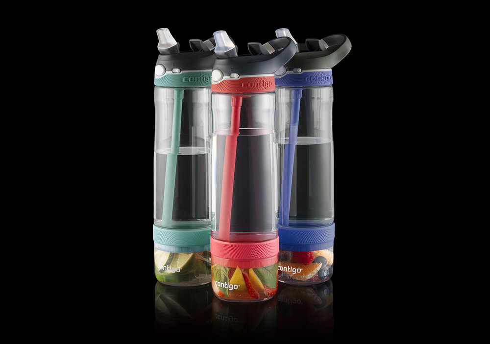 INFUSER WATER BOTTLE - Design Research, Industrial Design, Film