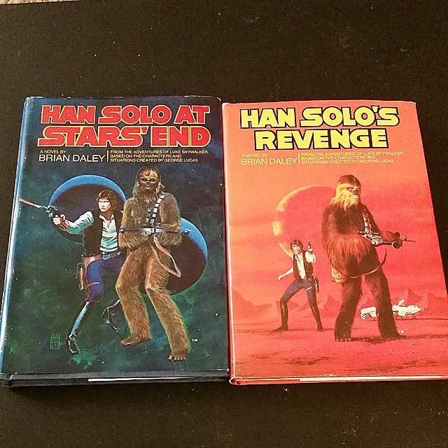 Best bookstore find. @starwars   #starwars #starwarsbooks #hansolo (at a galaxy far far away)