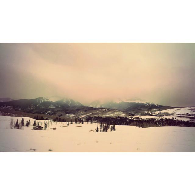 Dat view.  @coloradoinstagram #tellurideco (at Telluride Mountain Village)